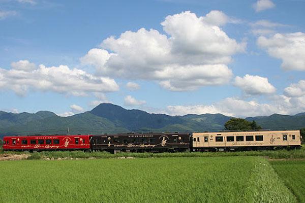 The Kuma-gawa railroad DEN-EN Symphony