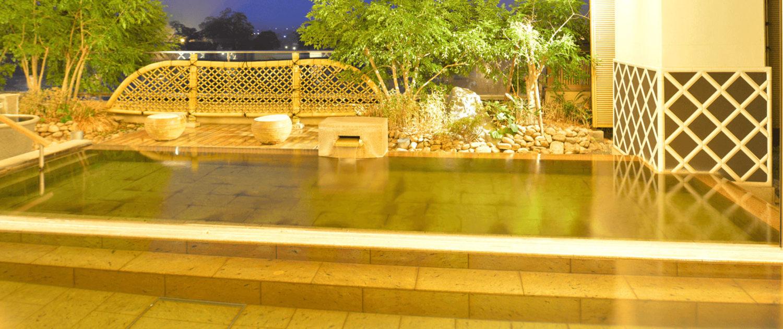 5階露天・大浴場蔵の湯殿