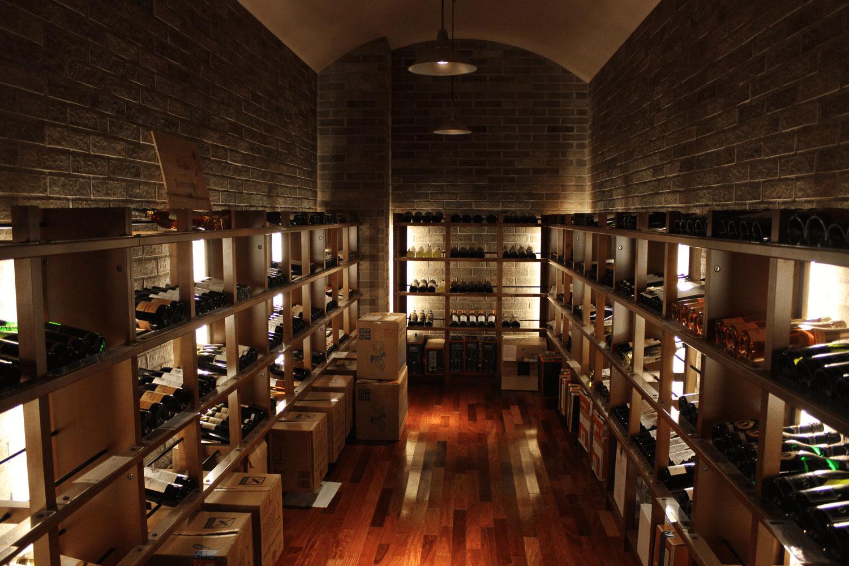 地下1階 ワインセラー